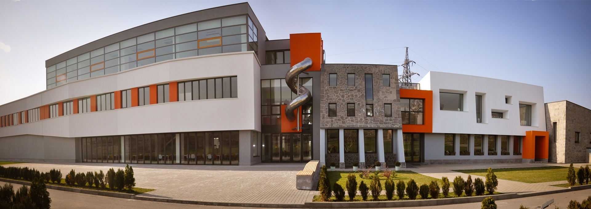 Ayb School, Buildings A and B