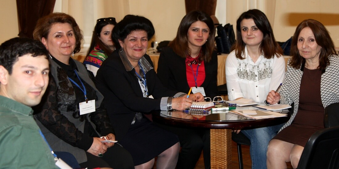 """""""We got inspired and filled with lots of new ideas:"""" teachers of Araratian Baccalaureate candidate schools at Ayb Teacher Conference"""